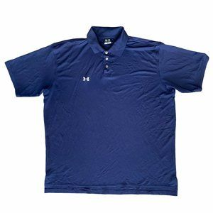 Under Armour Golf Polo Men's XL Shirt Sleeve Shirt
